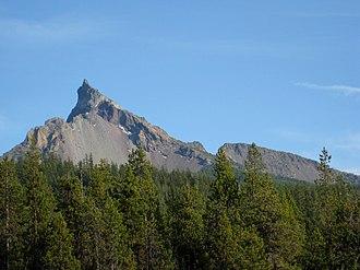 Mount Thielsen Wilderness - Mount Thielsen in October