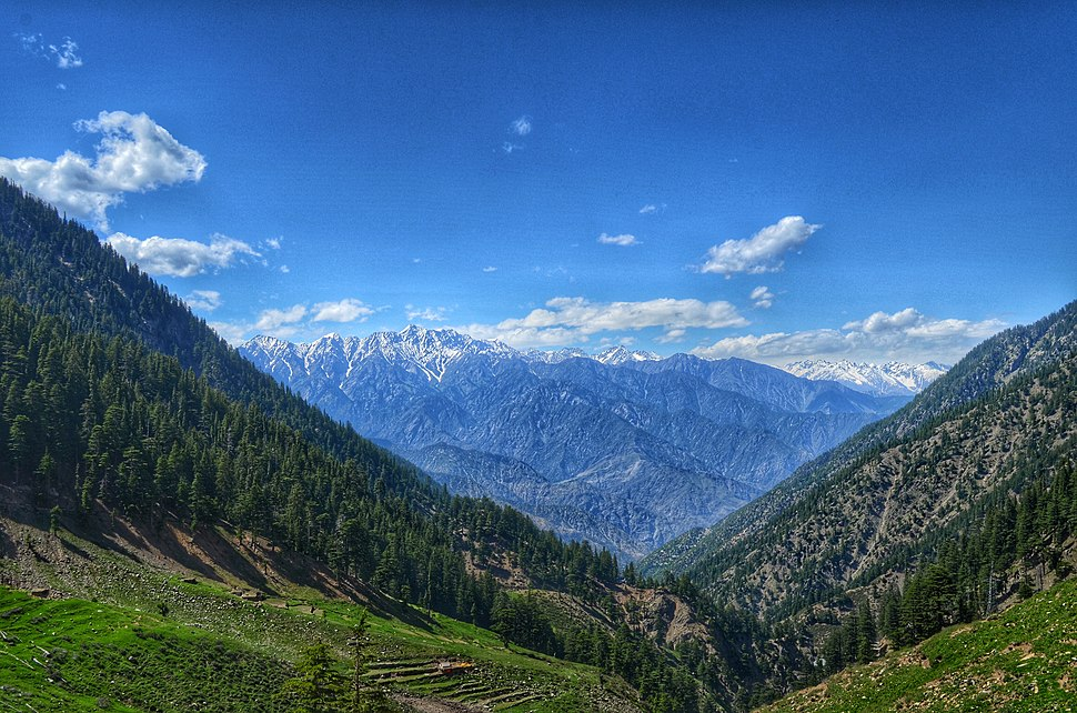 Mountains of the Chitral Valley