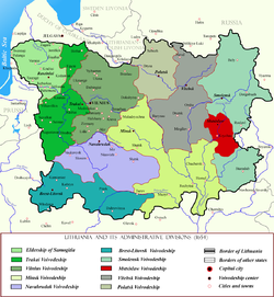 Mstsislaw Voivodeship within Lithuania in the 17th century.png