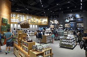 Muji - Muji store in Olympian City, Hong Kong