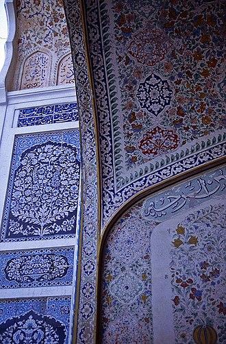 Shahi Eid Gah Mosque - Image: Multan Fr Moschee Det