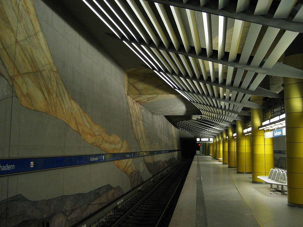 Munich subway Großhadern