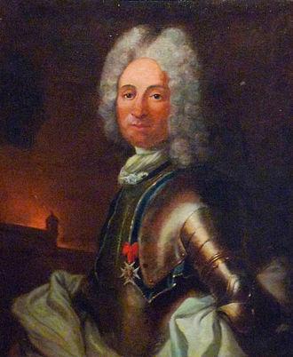 Jacques Tarade - Portrait of Jacques Tarade in the Musée historique de Strasbourg