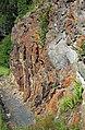 Muscovite schist (Precambrian; Blue Ridge, North Carolina, USA) 3.jpg