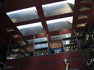 Museo Nacional Centro de Arte Reina Sofía - Jean Nouvel building interior