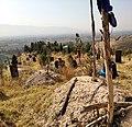 Muslim cemetery in Vahdat district.jpg