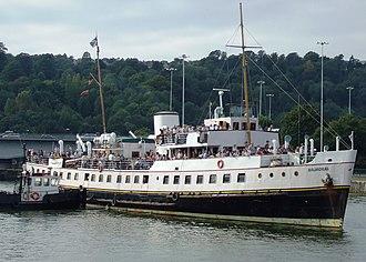 MV Balmoral (1949) - Image: Mvbalmoral 2