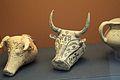 Mycenaean pottery rhyton, bull's head, 1400–1200 BC, BM Cat Vases A971, 142873.jpg