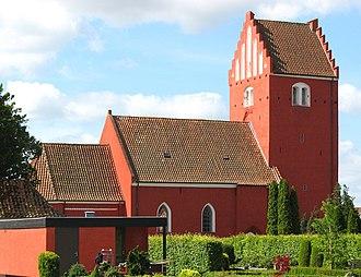 Nørre Alslev - Nørre Alslev Church, Falster