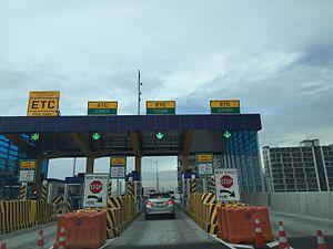 NAIA Expressway - Image: NAIA Expressway toll booth in Parañaque