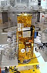 NASA's Aqua satellite in high bay - 8342094199.jpg