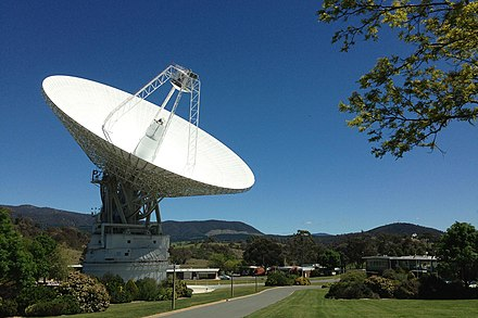 A growing number of Canberrans work in the science and technology sector, such as at the Canberra Deep Space Communication Complex NASA's Deep Space Antenna Upgrade to Affect Voyager.jpg