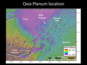Oxia Planum - Oxia Planum - Location Map.