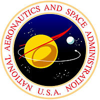 NASA seal, color