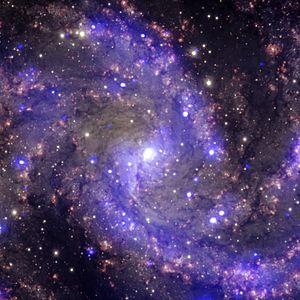 NGC 6946 - Spiral galaxy NGC 6946