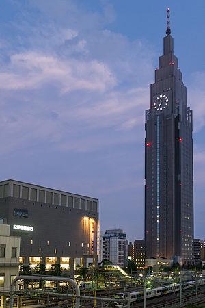NTT Docomo Yoyogi Building - Image: NTT Docomo Yoyogi Building 03