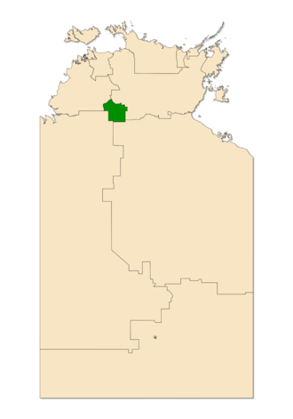 Electoral division of Katherine - Katherine in the Northern Territory