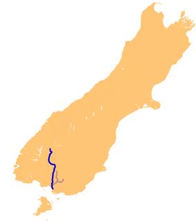 Oreti River river in New Zealand