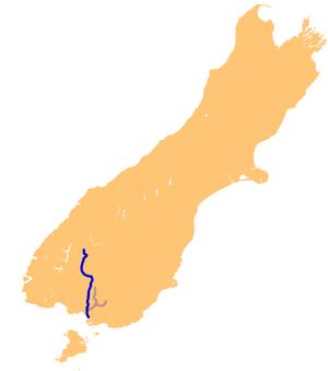 Oreti River - The Oreti River system