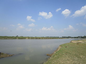 Thakurgaon District - Nagor River at Haripur upazila