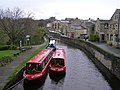Narrow boats, Skipton Canal (10) - geograph.org.uk - 871385.jpg