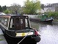 Narrow boats, Skipton Canal (4) - geograph.org.uk - 871376.jpg