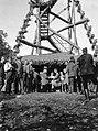 Naszály-hegy, a Magyar Turista Egyesület kilátójának megnyitója, középen Cholnoky Jenő földrajztudós. Fortepan 20036.jpg