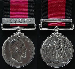 Natal Native Rebellion Medal