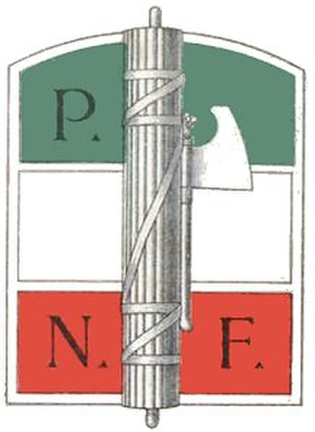 National Fascist Party logo, From WikimediaPhotos