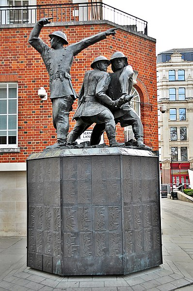 File:National Firefighters Memorial, Cannon Street, London.JPG