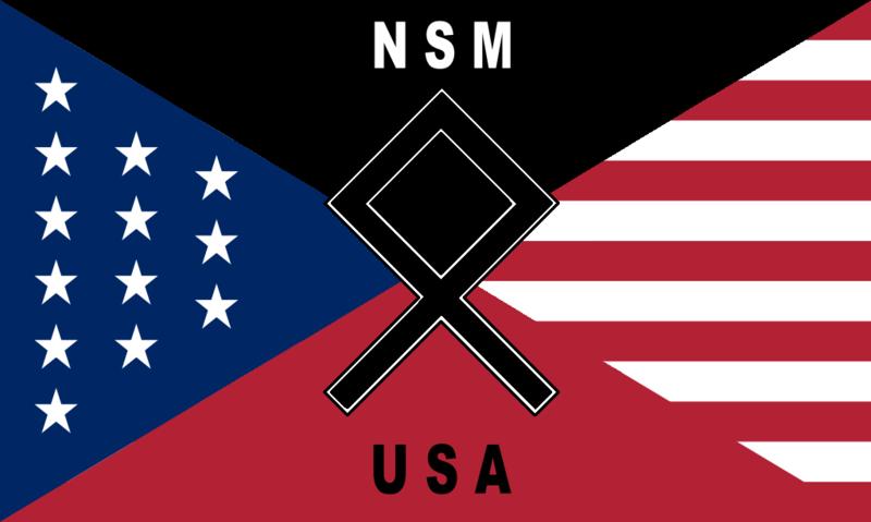 Elections du Conseil Municipal : Dépôt des candidatures. (04/07 à 12h00) 800px-National_socialist_movement_new_flag