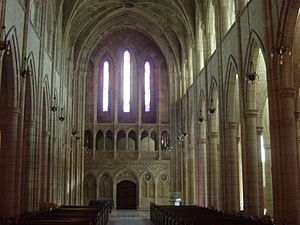 St John's Cathedral (Brisbane) - Nave facing liturgical west