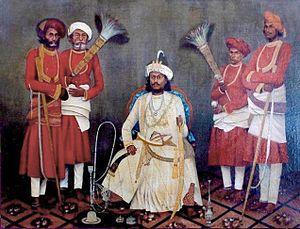 Sachin State - Nawab Ibrahim Mohammad Yakut Khan II of Sachin (1833-1873)