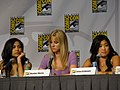 Naya Rivera, Heather Morris & Jenna Ushkowitz (4852403541).jpg