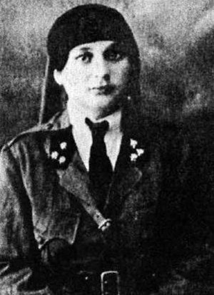 Nazik al-Abid - Al-Abid in military before the Battle of Maysalun, 1920
