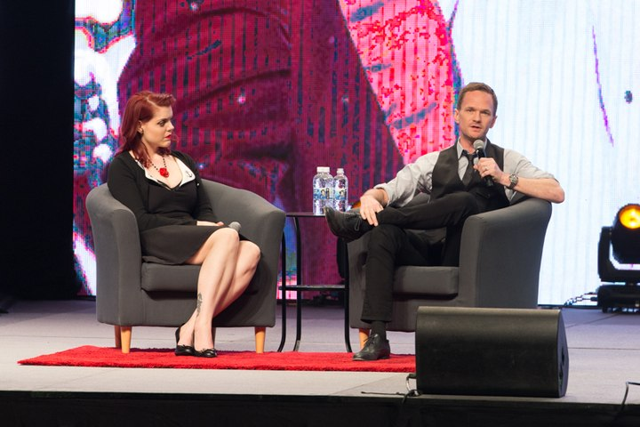 Neil Patrick Harris with Emily Expo.jpg