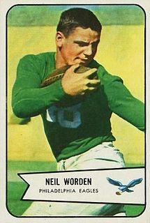 Neil Worden American football player