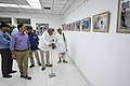 Nemai Ghosh Accompanied By Biswatosh Sengupta Visiting 1st Four Ps Group Exhibition - Kolkata 2019-04-17 5258.JPG