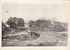 New Bedford, Illinois - Image: New Bedford, 1910