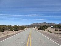 New Mexico 14 northbound, Santa Fe County NM.jpg