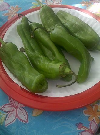 New Mexico chile - Green chile, unroasted