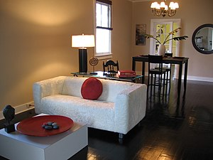 New Orleans This is the living room finished. ...