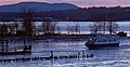 Newburgh-Beacon ferry winter Beacon approach.jpg