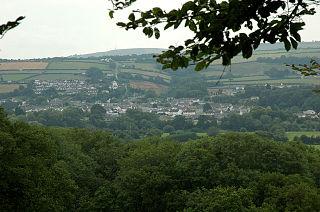 Newcastle Emlyn Town in mid-Wales