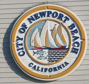 Newport Beach Seal at the Pier
