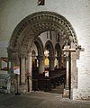 Newport Cathedral, Norman archway.jpg