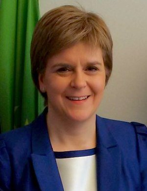 Deputy First Minister of Scotland - Image: Nicola Sturgeon, First Minister headshot cropped