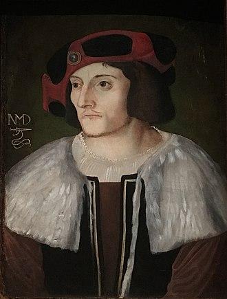 Niklaus Manuel Deutsch I - Self-portrait of Niklaus Manuel, c. 1515