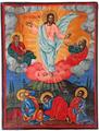 Nikola Mihaylov Kozi Dol Church Transfiguration Icon.png