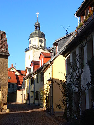 Altenburg - The Nikolai quarter is one of the oldest parts of Altenburg
